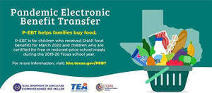 P-EBT Benefits for Students Who Qualify for Free AND Reduced School Meals