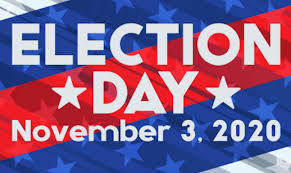 election day Nov 3