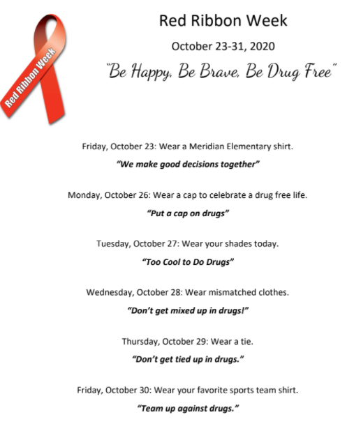 Red Ribbon Week MES 2020