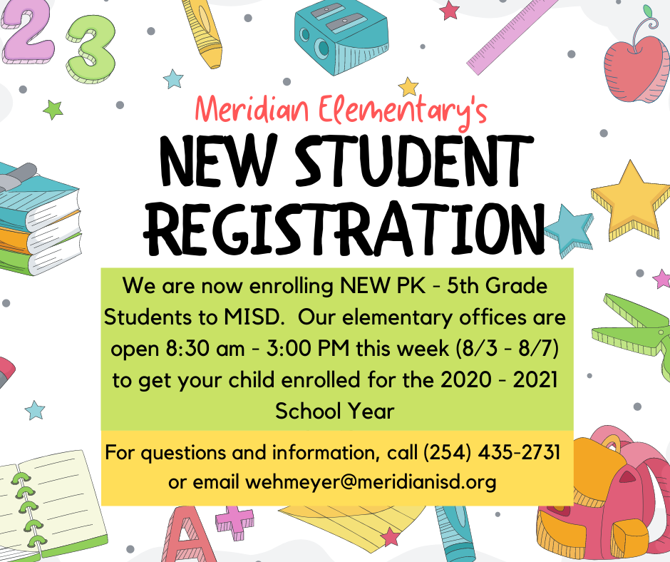 20.21 New Student Registration